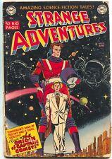 Strange Adventures 9 DC 1950 GD VG Sci-Fi 1st Captain Comet Carmine Infantino