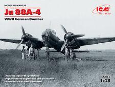 ICM 1/48 Ju 88A-4 WWII German Bomber # 48233