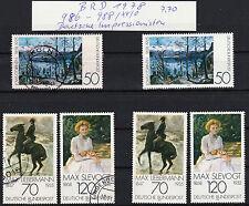 BRD 1978  MiNr.986-988 postfrischer und gestempelter Satz