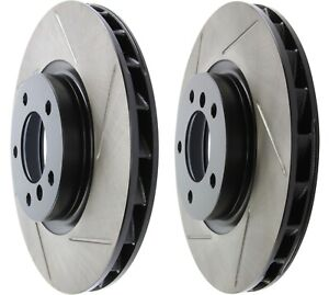 STOPTECH 95-99 BMW M3 / 98-02 Z3M FRONT SLOTTED BRAKE ROTORS DISCS SET PAIR