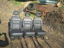 seats van conversions motorhome camper T4 T5 TRANSIT SPRINTER  LEATHER x3