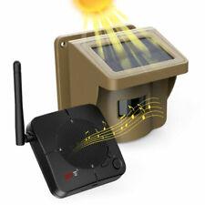 Kabelloser Solar Alarmanlage 1/2 Meile Haus Sicherheitssystem Bewegungsmelder DE