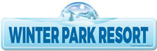 Winter Park Resort Street Sign | Snowboarder, Décor for Ski Lodge, Cabin, House