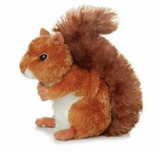 Aurora World 7 inch Squirrel Soft Toy - Multicolor