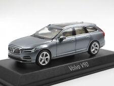 NOREV 1:43 AUTO DIE CAST VOLVO V90  2016 OSMIUM GREY ART. 870066