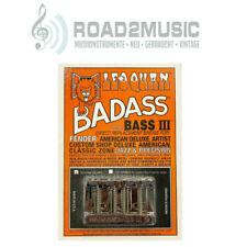 Leo Quan Badass III 4-string Bass Bridge Brücke BB-0336-010 Chrome