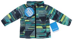 Columbia Baby Unisex Benton Springs Fleece Jacket Tippet Geo Full Zip Outerwear