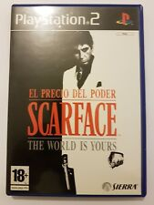 Scarface The World is yours ps2 pal España y completo