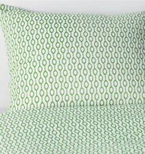 Ikea Rodved Double Duvet Set, 2 Pillowcases, Green/White, 200x200 cm, BNWT