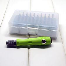 30 in 1 Premium Screwdriver Set Repair Tool Kit Fix iPhone Laptop Macbook PSP UK
