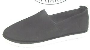 Steve Madden Size 7 Black Leather Loafers New Womens Shoes