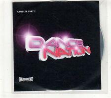 (GT708B) Dance Nation, Sampler Part 2 - DJ CD