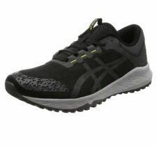 Asics Alpine XT Negro/Gris Oscuro Hombre Trail Running Shoes Trainers T828N -001