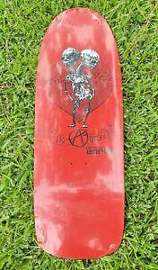 NOS Zorlac Big Boys Reissue Skateboard Deck Gibson Johnson