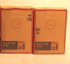 Lot of 2 New Sunlite Bicycle Bike Inner Tube 18 x 1.75 Schrader Valve 32 mm