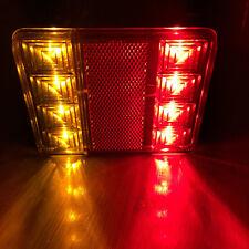 2x 12V 8 LED Rear Lampe Feux Arrière Lumières Camion Voiture Auto Car Remorque