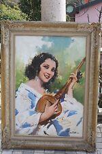 Romulado Locatelli (1905-1943) olio su tela, misure cm.120x90 ca.cornice origina