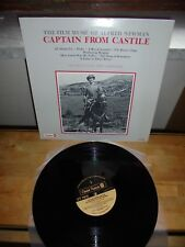 "Alfred Newman ‎""Captain From Castile"" LP CITADEL USA 1980"