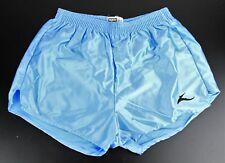 """Sin Uso Vintage 70s Bukta fútbol Sedoso Pantalones cortos de 36""""/91 Cm luz azul 226 y"""