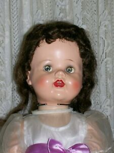 "Lovely 22"" Ideal Saucy Walker Doll with Bent Knees"