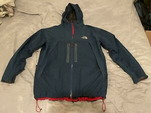 The North Face Mountain Guide Jacket Summit Series XXL Gore Tex Blue 2010 Rare