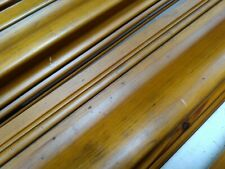 4 x 1.1m lengths (4.4m)-  Rustic Pine Wooden Picture Frame Moulding 118mm wide