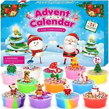 ELOVER Slime Advent Calendar 2020 Countdown to Christmas 24 Day Surprises...