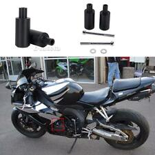 Black Motorcycle Frame Sliders Crash Protectors for Honda CBR600RR 2003-2006