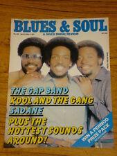 BLUES AND SOUL MUSIC MAG #328 1981  THE GAP BAND SADANE