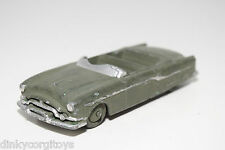 DINKY TOYS 132 PACKARD CONVERTIBLE ARMY GREEN GOOD CONDITION REPAINT