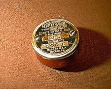 Vintage Hi-Power brand 5000 kHz Calibrator Crystal for Ham Radio - works
