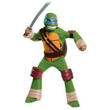 Teenage Mutant Ninja Turtles Leonardo Deluxe Costume Halloween Size Kids Small