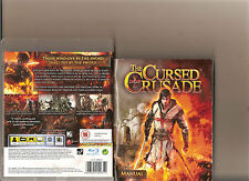 THE CURSED CRUSADE PLAYSTATION 3 PS 3