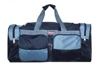 """Large Durable 22"""" Duffel Bag Luggage Travel Patch new"""