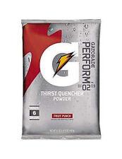 Gatorade 33690 Thirst Quencher Fruit Punch 51 oz Powder Packets