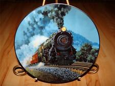 """""""The Broadway Limited"""" The Romantic Age Of Steam by R.E.Pierce Knowles Plate"""