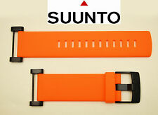 Suunto Core  ORIGINAL watch band  ORANGE Rubber  strap with attachment  2 pins