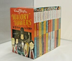 Malory Towers 12 Books Children Collection Box Set By Enid Blyton - DAMAGED