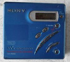 Sony MZ R 500 portabler tragbarer Minidisc Minidisk Recorder + 5 MDs MDLP fähig
