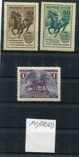 RUSSIA YR 1956,SC 1789-91,MI 1798-1800,MNH,INTERN HORSE RACES,ERROR,P1(1812)