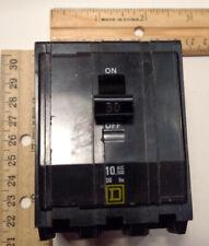 Square D Qob330 3 Pole 30 A Circuit Breaker 240 V bolt in