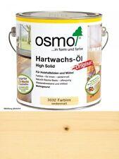 Osmo Hartwachsöl Farblos  3032    2,5L High Solid seidenmatt High Solid