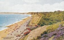 Artist Drawn, Durley Chine Looking West, BOURNEMOUTH, Hampshire - A. R. Quinton?