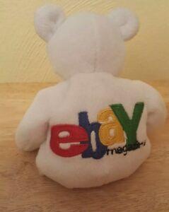 EBAY Bean Bag Bear Plush Toy Salvino's Internet Advertising Ebayana Grand Paw
