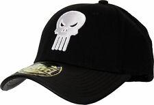 Marvel Comics The Punisher Adjustable Black Cap