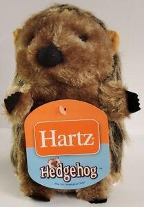 HARTZ HEDGEHOG PLUSH LARGE DOG TOY COLOR BROWN