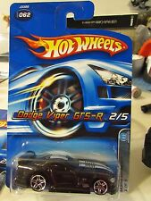 Hot Wheels Dodge Viper GTS-R #062 Mopar Madness Black