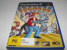 Futurama PS2 PAL Preloved *No Manual*