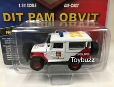 JOHNNY LIGHTNING 1:64 TOYOTA FJ LAND CRUISER DIT PAM OBVIT INDONESIA POLICE 7187
