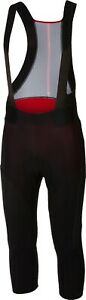 Castelli Sorpasso Men's Cycling Bib Knickers Black Size Small